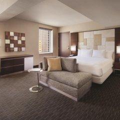 Отель Hilton San Francisco Union Square 4* Стандартный номер с двуспальной кроватью фото 5