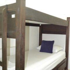 Отель Hostal Pajara Pinta Кровать в общем номере с двухъярусной кроватью фото 16
