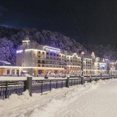 Отель Парк Инн от Рэдиссон Роза Хутор (Park Inn by Radisson Rosa Khutor) Эсто-Садок пляж