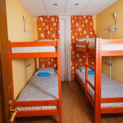 Хостел Кенгуру Кровать в общем номере с двухъярусными кроватями фото 14