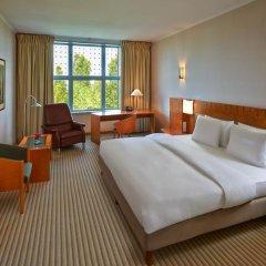 Отель Hilton Munich Airport 4* Стандартный номер разные типы кроватей фото 9