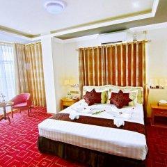 Myat Nan Yone Hotel 3* Люкс с различными типами кроватей фото 3
