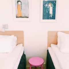 Отель Sunderby Folkhögskola Hotell & Konferens 3* Стандартный номер с 2 отдельными кроватями фото 4