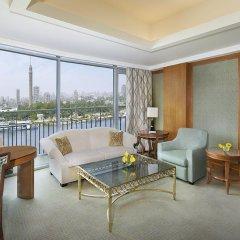Отель The Nile Ritz-Carlton, Cairo 5* Президентский люкс с различными типами кроватей фото 4