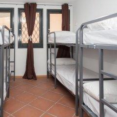 Galaxy Star Hostel Barcelona Кровать в общем номере с двухъярусной кроватью фото 17
