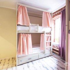 Волхонка хостел Кровать в общем номере с двухъярусными кроватями фото 8