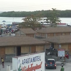 Отель Aparta Hotel Vista Tropical Доминикана, Бока Чика - отзывы, цены и фото номеров - забронировать отель Aparta Hotel Vista Tropical онлайн приотельная территория