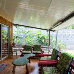Pension Te Miti - Hostel Пунаауиа балкон