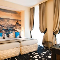 Отель Ile De France Opera Париж комната для гостей фото 5