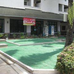 Отель Komol Residence Bangkok Бангкок бассейн