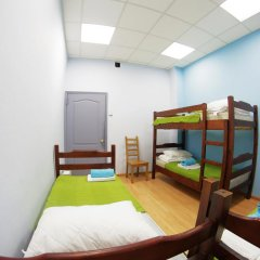 Fantomas Hostel Номер Эконом разные типы кроватей фото 8