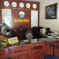 Nam Rom Hotel интерьер отеля