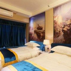 Апартаменты Guangzhou Chimelong Heefun International Service Apartment Номер Делюкс фото 3