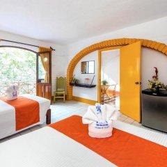 Hotel Hacienda de Vallarta Centro 3* Стандартный номер с различными типами кроватей фото 10