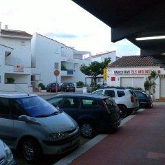 Отель Apartaments Estudis Els Molins Испания, Курорт Росес - отзывы, цены и фото номеров - забронировать отель Apartaments Estudis Els Molins онлайн парковка