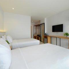 Отель Ruenthip Residence Pattaya 4* Улучшенный номер с 2 отдельными кроватями фото 5