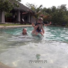 Отель Villa Mangrove Унаватуна бассейн