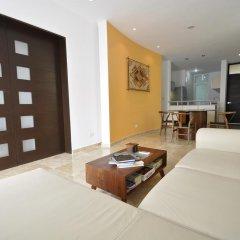 Отель La Papaya Plus 303 - LPP303 Мексика, Плая-дель-Кармен - отзывы, цены и фото номеров - забронировать отель La Papaya Plus 303 - LPP303 онлайн комната для гостей фото 3