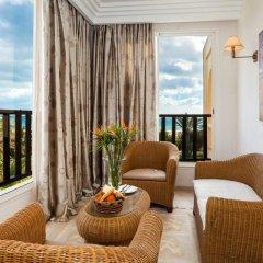 Отель Africa Jade Thalasso 4* Улучшенный номер с различными типами кроватей фото 4