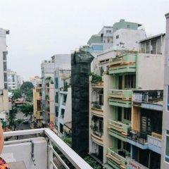 Wanderlust Saigon Hostel Кровать в общем номере с двухъярусной кроватью фото 11