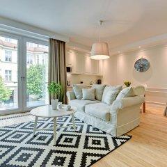 Апартаменты Grand Apartments - Wave Сопот комната для гостей фото 2