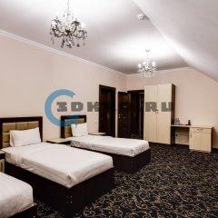 Гостиница Vision 3* Стандартный семейный номер с двуспальной кроватью фото 4