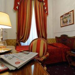 Hotel Giulio Cesare 4* Стандартный номер с различными типами кроватей фото 6