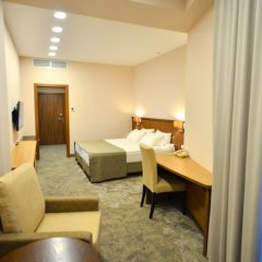 Альфа Отель 4* Стандартный номер с двуспальной кроватью фото 17