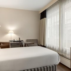 Отель NH Brussels Stéphanie 4* Стандартный номер с различными типами кроватей фото 3