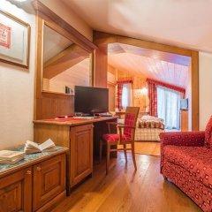 Hotel Lo Scoiattolo 4* Люкс с различными типами кроватей фото 7