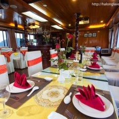 Отель Halong Lavender Cruises 3* Номер Делюкс с различными типами кроватей фото 6