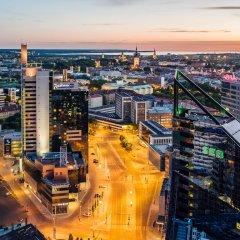 Отель Radisson Blu Sky Эстония, Таллин - 14 отзывов об отеле, цены и фото номеров - забронировать отель Radisson Blu Sky онлайн пляж фото 2