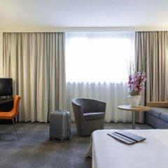 Отель Novotel Frankfurt City 4* Стандартный номер с различными типами кроватей фото 5