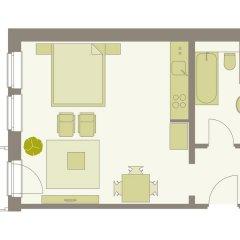 Отель Aparthotel am Zwinger 3* Апартаменты с различными типами кроватей фото 2
