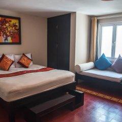Отель Vietnam Backpacker Hostels - Downtown Номер Делюкс с различными типами кроватей фото 4