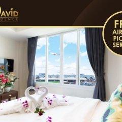 Отель David Residence 3* Номер Делюкс с различными типами кроватей фото 8