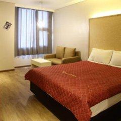 K City Hotel 3* Номер Делюкс с различными типами кроватей фото 4