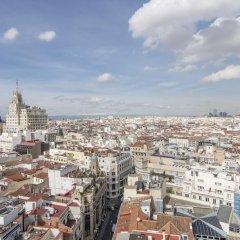 Отель Petit Palace Alcalá балкон
