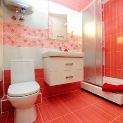 Апартаменты на Луговой 67/69 Студия с различными типами кроватей фото 8