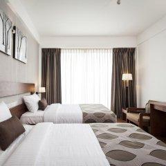 Отель The Ocean Colombo 3* Улучшенный номер с различными типами кроватей фото 3