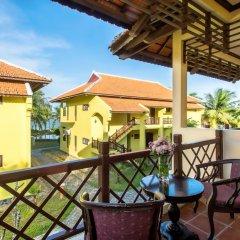 Отель Agribank Hoi An Beach Resort 3* Номер Делюкс с различными типами кроватей фото 7