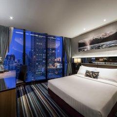 Отель The Continent Bangkok by Compass Hospitality 4* Улучшенный номер с различными типами кроватей фото 4