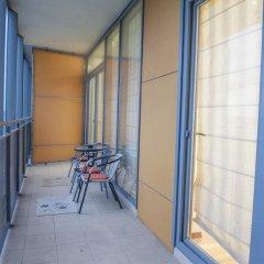 Отель Natalex City Apartments Литва, Вильнюс - отзывы, цены и фото номеров - забронировать отель Natalex City Apartments онлайн балкон