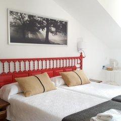 Отель Hostal Restaurante Nevandi Стандартный номер с различными типами кроватей фото 9