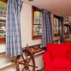 Отель The Hoop Houseboat Нидерланды, Амстердам - отзывы, цены и фото номеров - забронировать отель The Hoop Houseboat онлайн комната для гостей фото 3