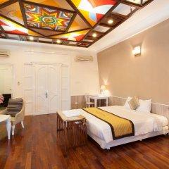 Hanoi Old Quarter Hotel 3* Стандартный номер двуспальная кровать фото 9