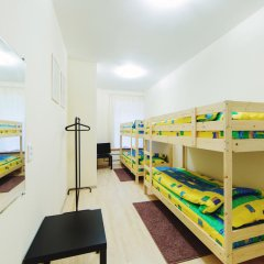 Мини-Отель Компас Кровать в общем номере с двухъярусной кроватью фото 27