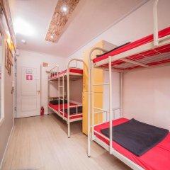 Хостел Itaewon Inn Кровать в общем номере с двухъярусной кроватью фото 11