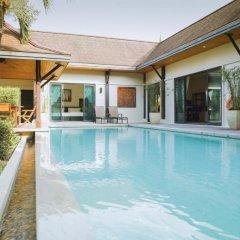 Отель Two Villas Holiday Oriental Style Layan Beach 4* Вилла с различными типами кроватей фото 21