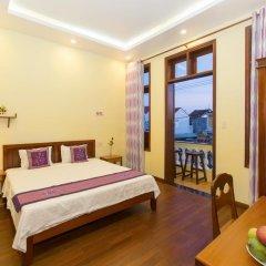 Отель Qua Cam Tim Homestay Номер Делюкс с различными типами кроватей фото 4